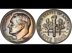 Have any old dimes - like a 1975 Roosevelt dime without a mintmark? How to tell if you have rare dimes, what makes a 1975 dime valuable, and where to find Old Coins Value, Rare Pennies, Old Coins Worth Money, Valuable Coins, Error Coins, Coin Worth, Coin Values, Show Me The Money, Coin Grading