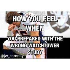 Looks like no comments from me today, lol, of course you're not giving up that easy Jehovah witness. Jw Meme, Jw Jokes, Funny Quotes, Funny Memes, Jw Funny, Jw Humor, Jehovah's Witnesses, Bible Lessons, Encouragement
