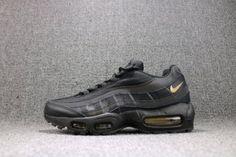 9e04d9b648 Mens Shoes Nike Air Max 95 Premium SE Black Gold 924478 003