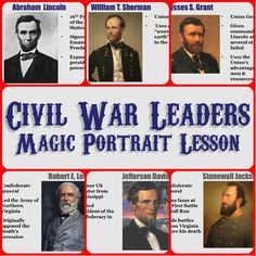 This amazing, magical lesson includes a PowerPoint of leading Civil War era figures including Frederick Douglass, John Brown, Harriet Beecher Stowe. 7th Grade Social Studies, Social Studies Resources, Teaching Social Studies, Teaching Us History, Teaching American History, History Education, Virginia Studies, Frederick Douglass, Study History