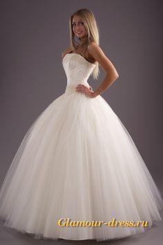 пышные свадебные платья из фатина с жемчугом - Поиск в Google