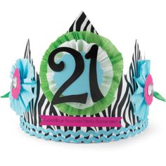 Perfect For The 21st Birthday Party Hat Sash Parties