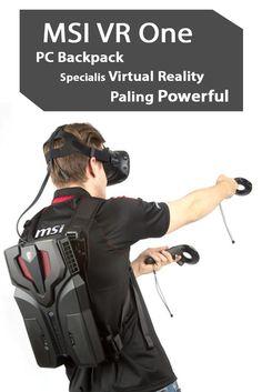 MSI VR One, PC Backpack Specialis Virtual Reality Paling Powerful. Baca disini >> http://kliknklik.com/blogs/msi-vr-one-pc-backpack-specialis-virtual-reality-paling-powerful/