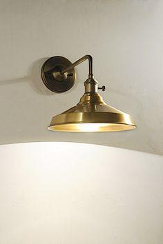 Bracket Light Corridor 1 Brass