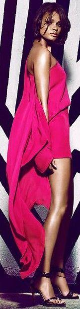 Fuchsia dress ♥✤ | Keep the Glamour | BeStayBeautiful