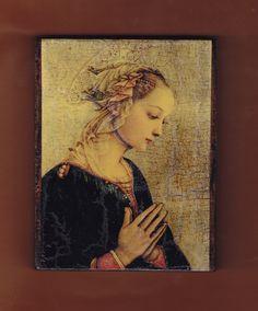 Virgin MaryFra Filippo Tommaso Lippi Madonna. by teogonia on Etsy