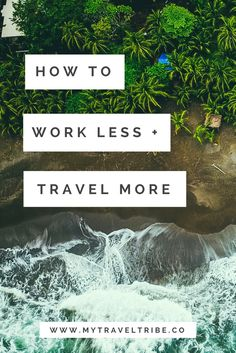 How to work less and travel more. An interview with a digital nomad who is living her dream while travelling the world. Relates to travel blogging, digital nomad lifestyle and location independent career.