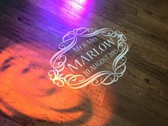 Marlow Floor Decal