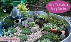 How to Make a Fairy Garden Fairy gardens are magical, mystical, and mythical. They can be made in a container, a box, a bottle, or even in a wide open space in your backyard or property. No matter where they are made, it is no doubt that they are beautiful and mythical. A fairy garden …