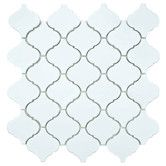"Found it at Wayfair - Beacon 12-1/2"" x 12-1/2"" Glazed Porcelain Mosaic in Matte White $104 per box"