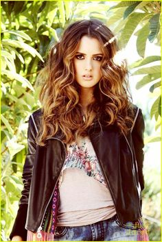Laura Marano gets earthy in this new shot from the new issue of Galore mag.