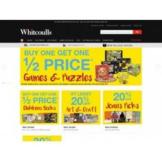 Buy One Get One Half Price on Games & Puzzles @ Whitcoulls