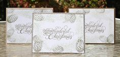 One layer Christmas card | Lala's World https://lalasworldblog.blogspot.com/2016/10/one-layer-christmas-card.html