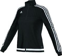 adidas Women's Tiro 15 Training Jacket (Black)