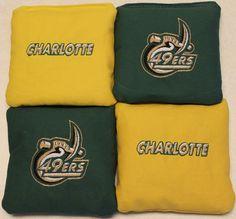 Charlotte 49ers Corn hole bags