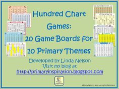 Hundred Chart Games - Free!