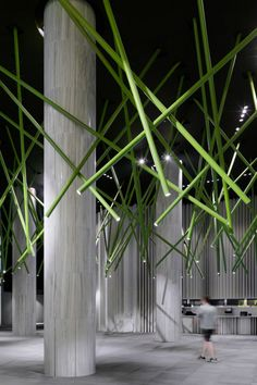 Inside World Festival of Interiors 2014 finalists announced gallery - Vogue Living Commercial Design, Commercial Interiors, Ceiling Treatments, Theatre Design, Luminaire Design, Ceiling Design, Ceiling Ideas, Best Interior, Room Interior