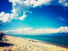 Kryopigi beach, Halkidiki