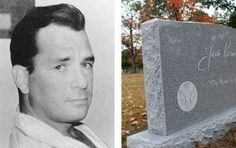 Jack Kerouac's grave is in Massachusetts.