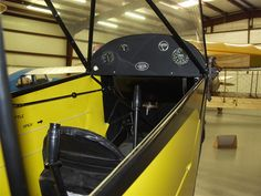 Piper E-2 Cub Cockpit