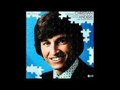 Christian Anders - Nie Mehr Allein (1969) Christian Anders, German, Songs, World, Youtube, Alone, Musik, Deutsch, German Language