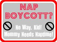 The Solution to the Afternoon Nap Boycott