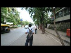 Walkthrough of mumbai road