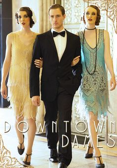 Fllapper dress side of Downton Abbey, will we see them this season?