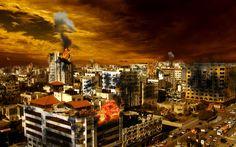 Burning City by Edicz on DeviantArt