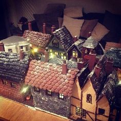 Gingerbread Diagon Ally Harry Potter made by Joanne Knight