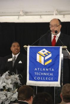State Senator Vincent Fort.  ATLANTA TECHNICAL COLLEGE OPENS THE : BRENDA WATTS JONES ALLIED HEALTH & TECHNOLOGY COMPLEX ATLANTA_TECHNICAL_COLLEGE_007 Atlanta Technical College, Technology, Friends, Health, Tech, Amigos, Health Care, Tecnologia, Salud