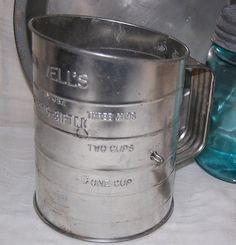 Vintage Bromwell's 3 cup Flour by PenelopesTreasures on Etsy, $8.00