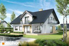 Projekt: Dom w kortlandach Home Decor Kitchen, Bungalow, Beautiful Homes, House Plans, Villa, Cabin, Mansions, Interior Design, Architecture