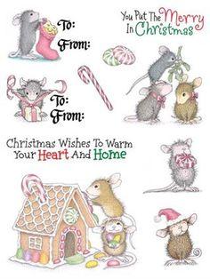 Christmas House Mouse Kit