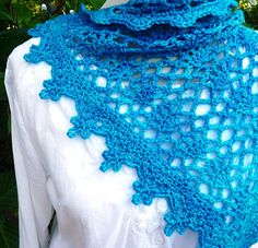 Ravelry: Celebrations Shawl pattern by Wendy Lewis (link to info on pattern book)