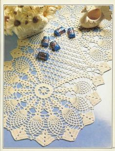 crochet tablerunner pattern