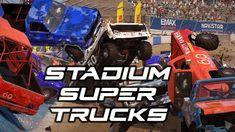More Wreckfest Stadium Super Trucks! Channel, Comic Books, Trucks, Comics, Cover, Youtube, Truck, Cartoons, Cartoons