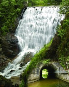 Parc des chutes d'Armagh - Park to Armagh - Bellechasse Camping Quebec, Armagh, Quebec City, Canada Travel, Places To Visit, Around The Worlds, Outdoor, English Gardens, Plein Air