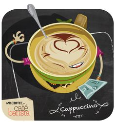 """Cappuccino: """"Love and light!"""" is your mantra. Being very even-tempered, artistic and stylish, you sip your Mr. Coffee® cappuccino while flipping through the latest style magazine on Saturday mornings. You're the most thoughtful person your friends know, and always willing to lend a hand when needed. Aw, good job, you. Your mom is proud."""