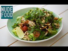 Crispy Noodle Chicken Salad with Hoisin Dressing Crispy Noodles, Ramen Noodles, My Kitchen Rules, Roast Duck, Quick Weeknight Dinners, Hoisin Sauce, Chinese Restaurant, Salad Ingredients, Eating Plans