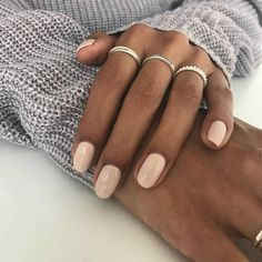 Semi-permanent varnish, false nails, patches: which manicure to choose? - My Nails Nude Nails, Pink Nails, Gel Nails, Acrylic Nails, Manicures, Nail Ring, Nagel Gel, Nail Polish Colors, Pink Polish
