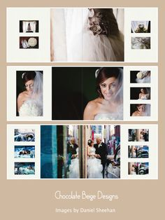 Fotobuch layouts combination flushmount and matted wedding album, images by Daniel Sheehan. Wedding Photo Books, Foto Wedding, Wedding Photo Albums, Wedding Photos, Party Wedding, Wedding Album Cover, Wedding Album Layout, Wedding Album Design, Wedding Photography Checklist