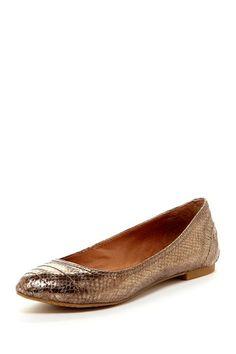 Peppy Almond Toe Flat