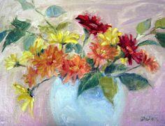 Ivy Delon Fine Art-Gerbera Daises