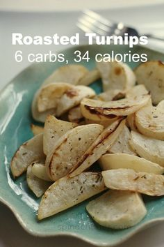 Post image for Roasted Turnips, a Lower Carb, Lower Calorie Alternative to the Potato