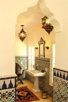 Hammam Style Bathroom - mediterranean - bathroom - los angeles - Le Mosaiste