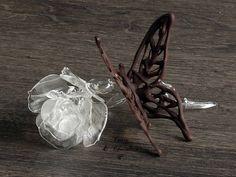 Cómo hacer mariposas de chocolate – How to make chocolate butterflies