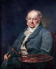 francisco de Goya autorretrato