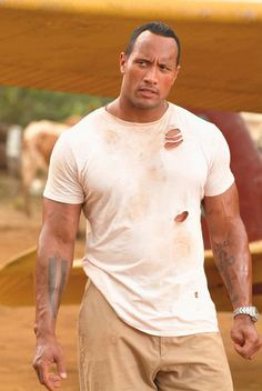 Like Dwayne Johnson that make you wanna melt. Here's your eye candy for the day :)