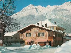 Garmisch-Partenkirchen, Bavaria, Germany, 1968.
